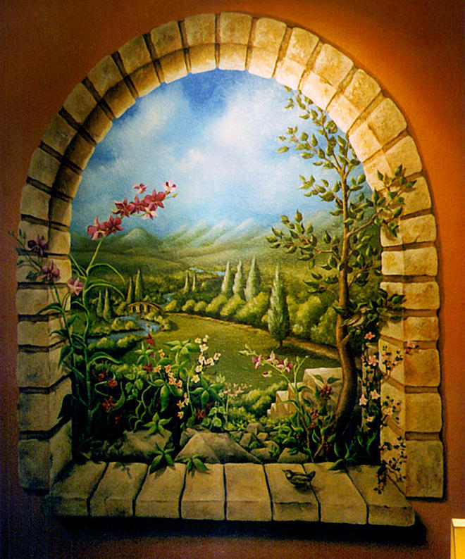 Paint By Number Wall Mural