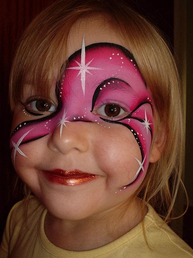 cute face paintings -  19