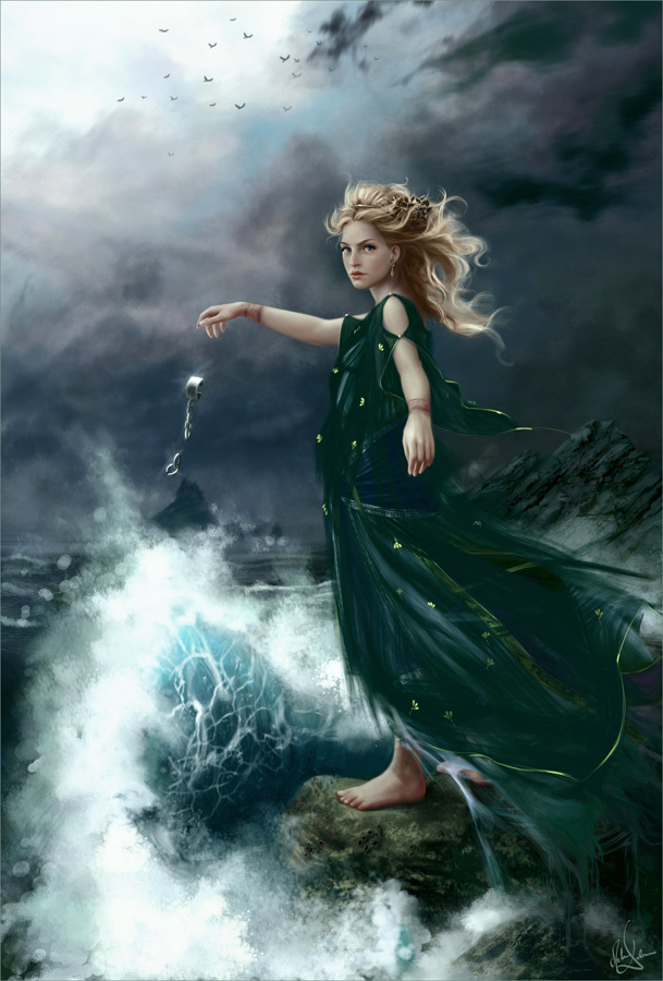 melanie delon fantasy art -  19