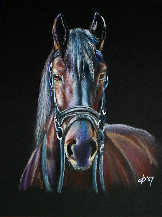 pastel painting by callsign kate jones -  19