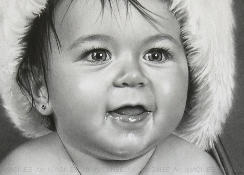 19 realistic face drawings