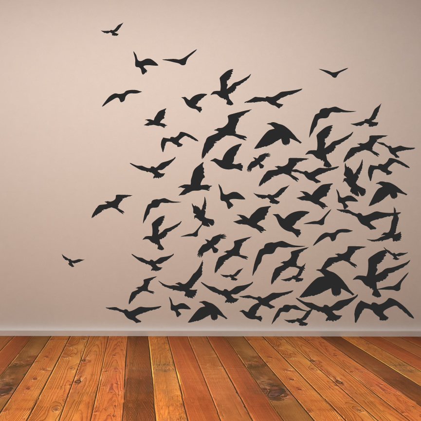 Wall art 2 birds wall art for Wall art wallpaper