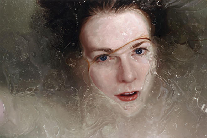 hyper realistic paintings by alyssa monks -  2