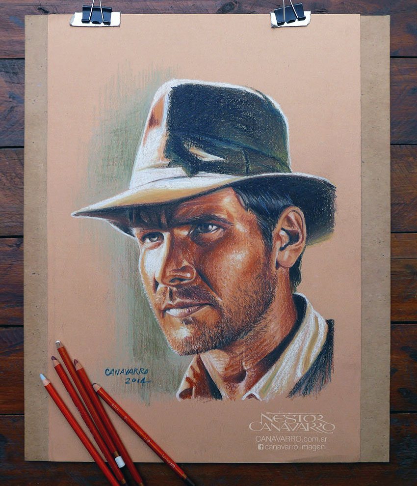 color pencil drawing by nestor canavarro -  20