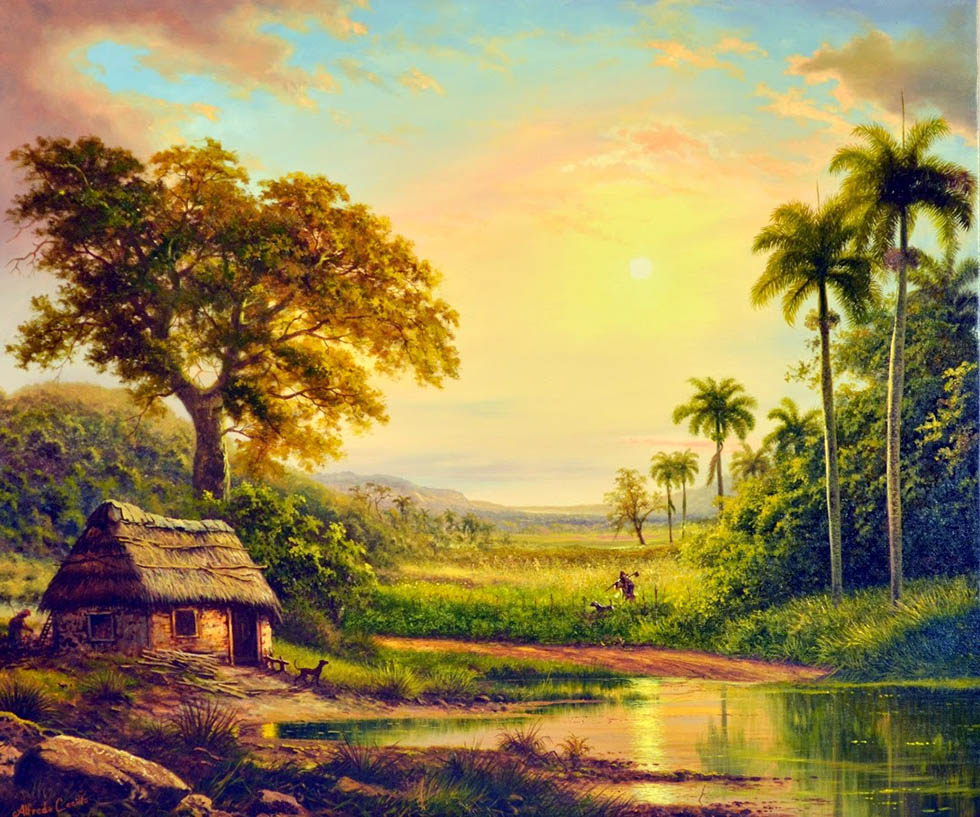20 palm tree painting