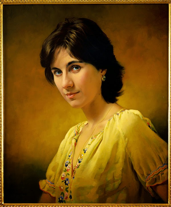 potrait paintings by nikolai shurygin -  20