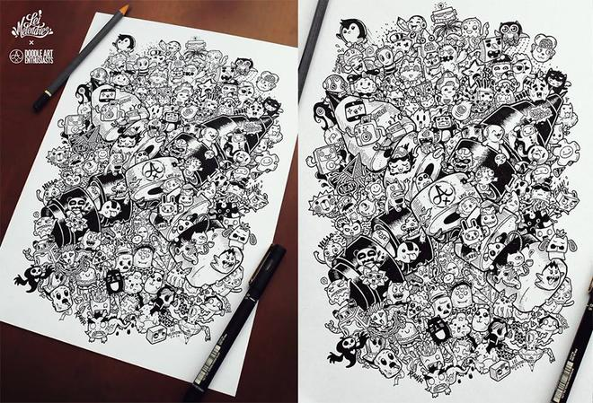 funny doodle art by lei melendres -  21