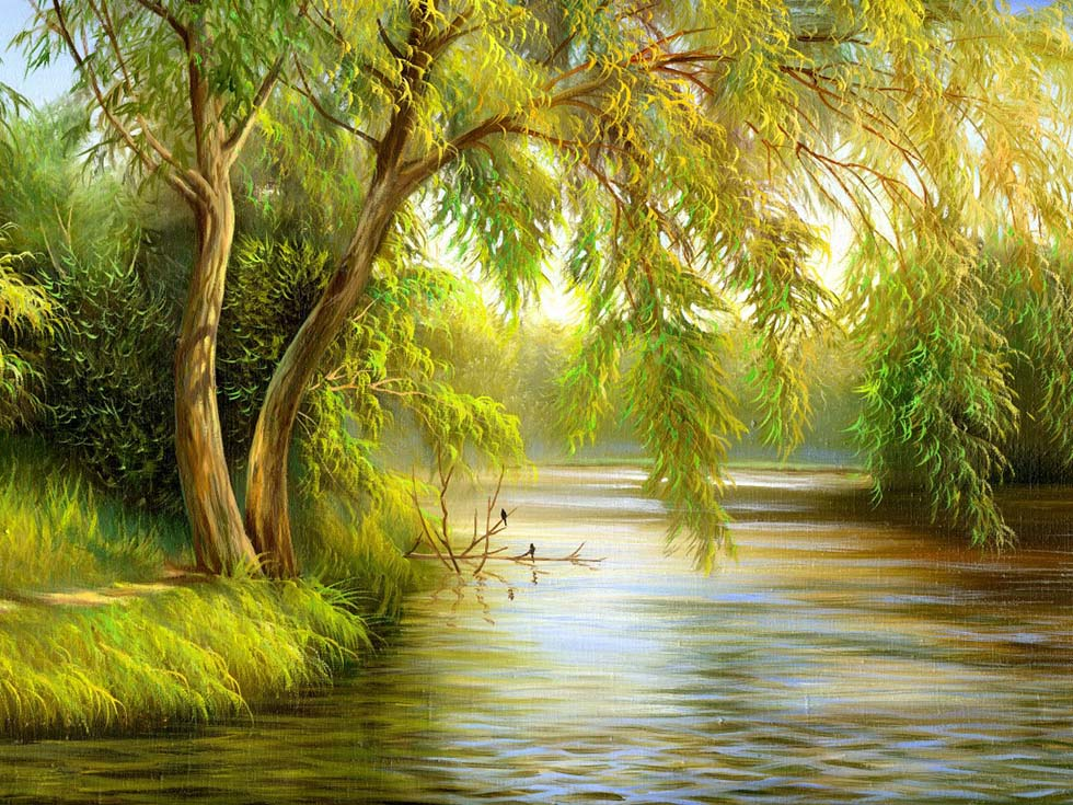 21 nature tree painting | Image