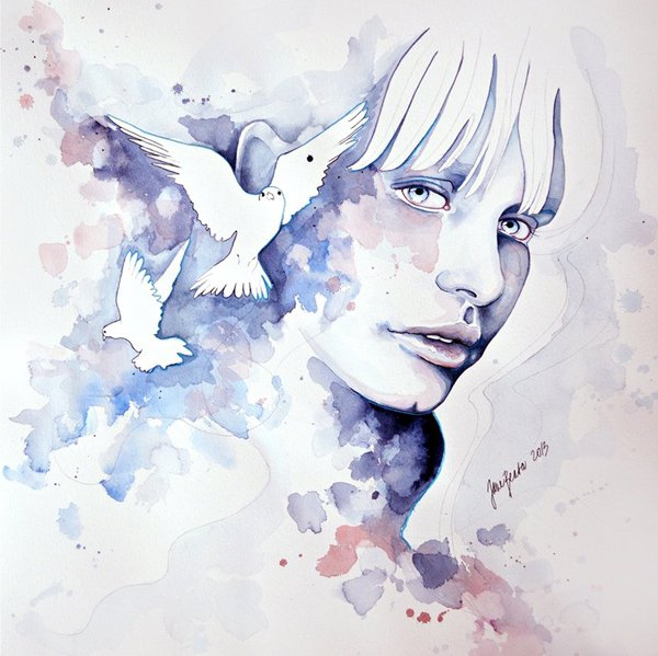 water colour paintings by jane beata -  21