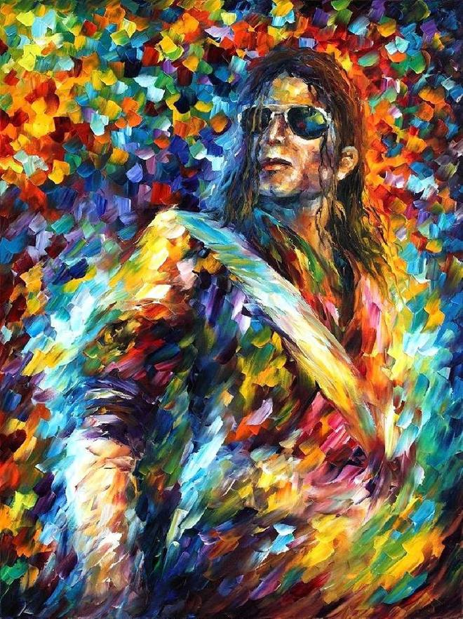 michael jackson amazing paintings by leonid afremov -  22