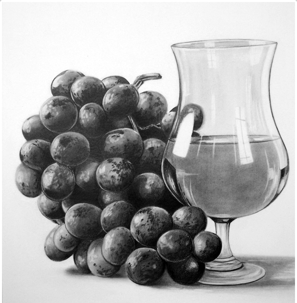 Still life drawings 22
