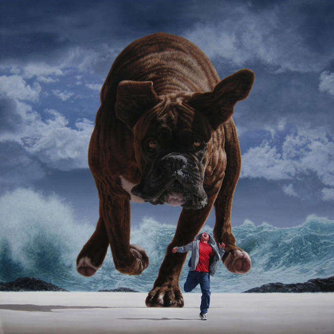 surreal painting by joel rea -  22