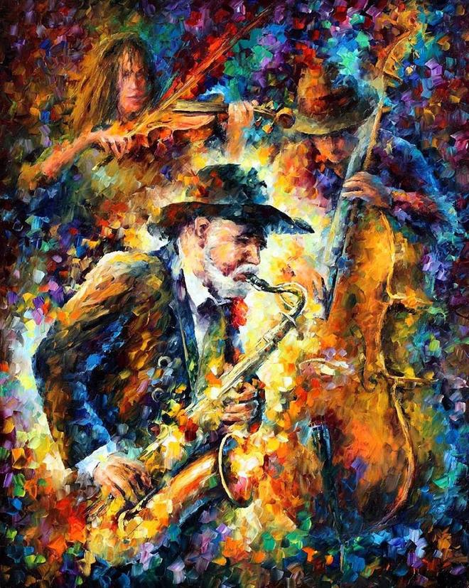 tune colorful painitngs by leonid afremov -  22