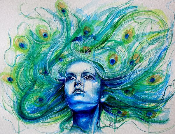 water colour paintings by klarem -  22