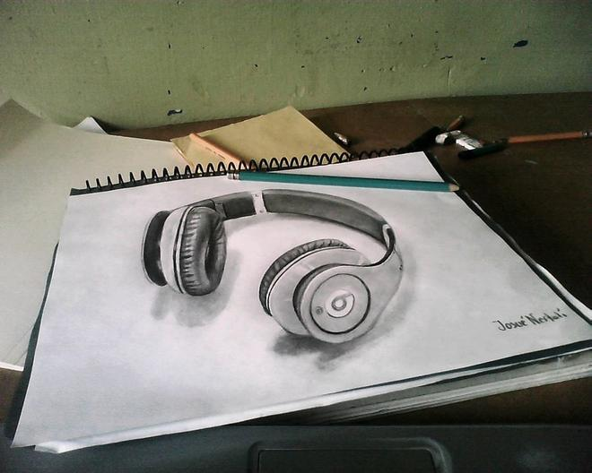 3d drawings by hhjosue