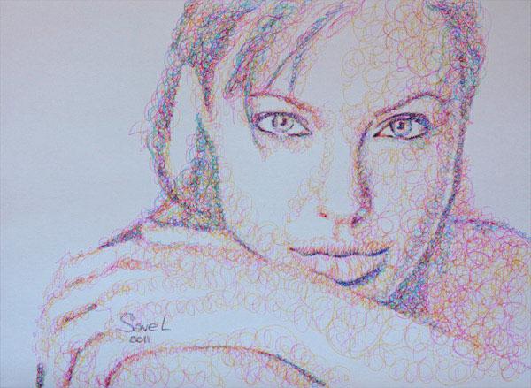 scribbles by sergeivyacheslavsavelyv -  23