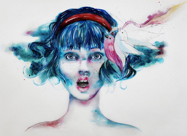 water colour paintings by leilalilium -  23