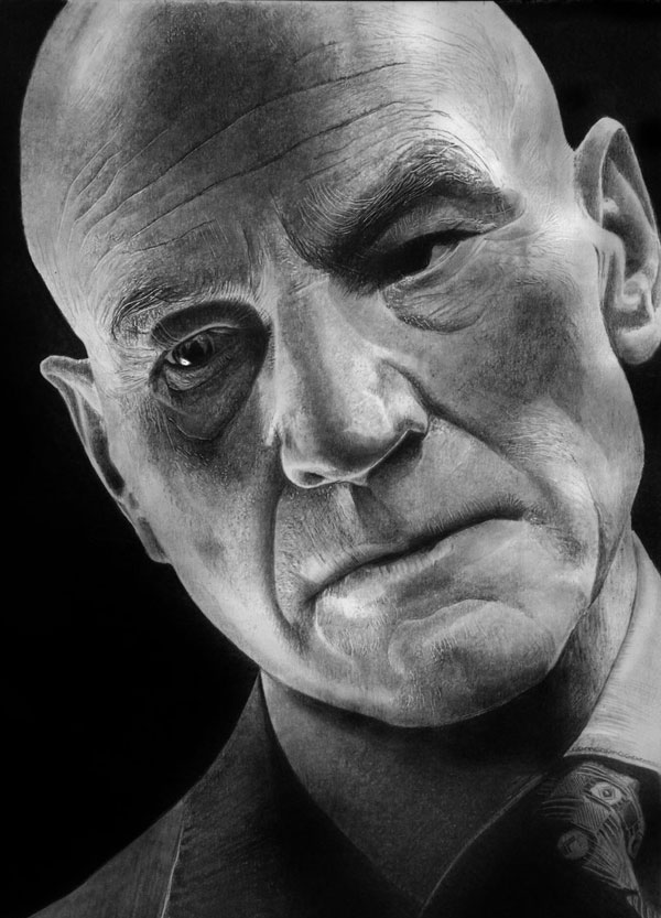 23 xavier realistic face drawings