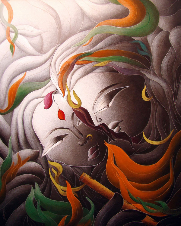 creative paintings by dhananjay mukherjee -  24