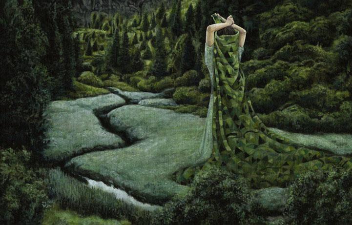 surreal paintings by moki -  24