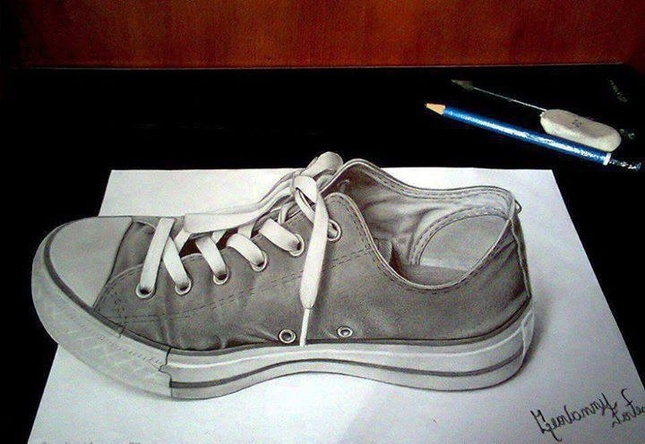 shoe 3d drawings