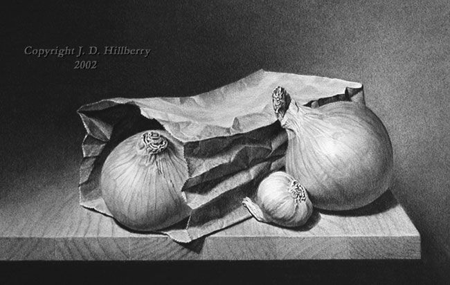 still life drawings by j d hillberry -  25