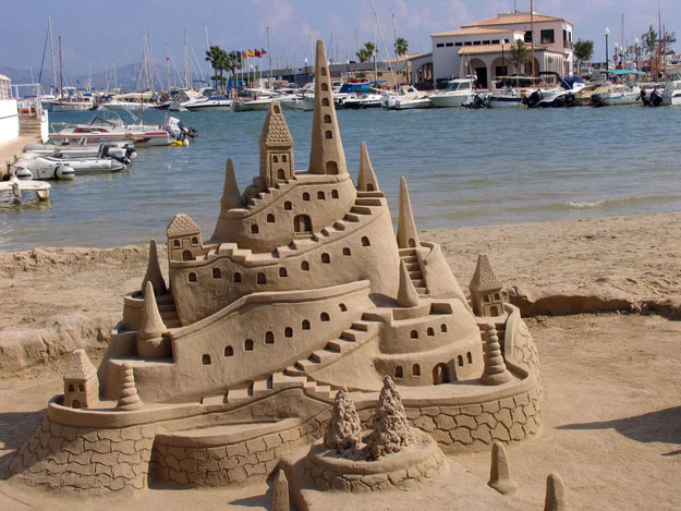 village sand sculptures -  26