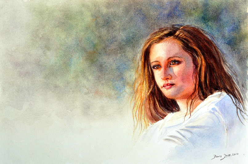 27 luisa potrait paintings