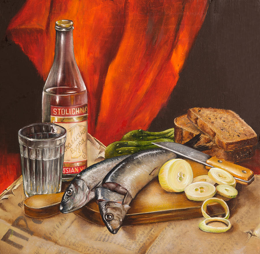 still life painting by roxana paul -  28