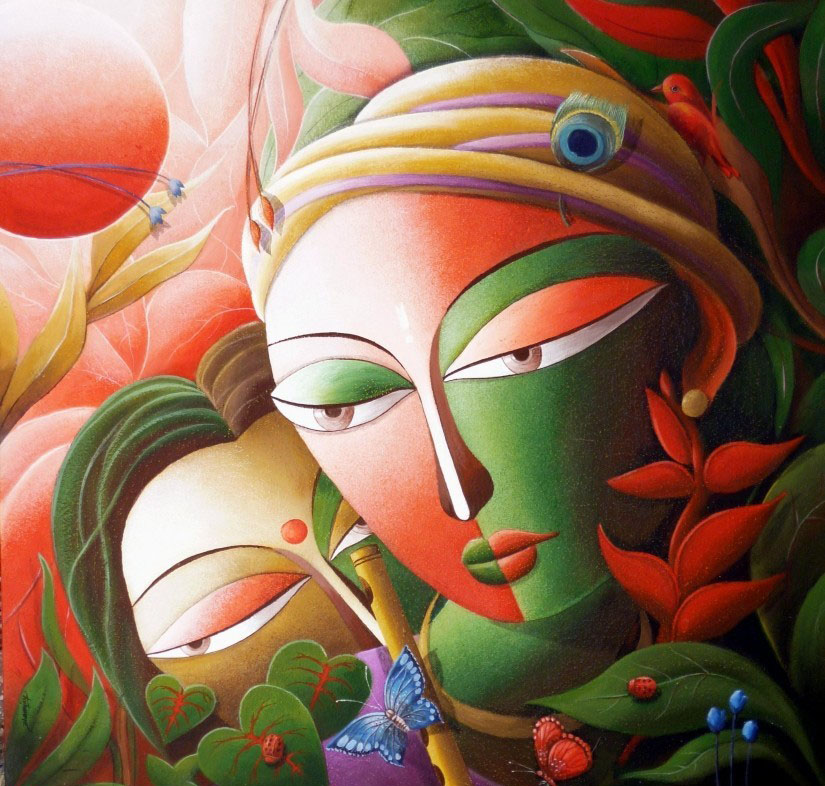 creative paintings by dhananjay mukherjee -  3