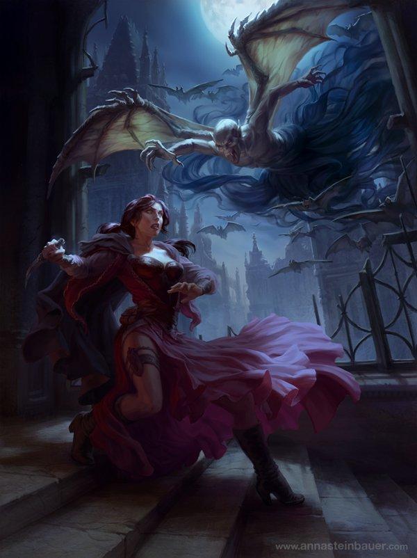 3 fantasy art by depingo