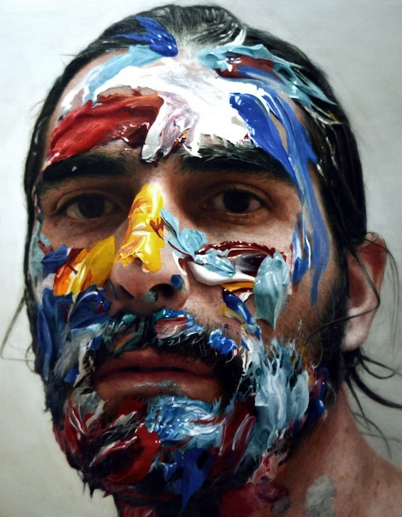 potrait paintings by eloy morales -  3