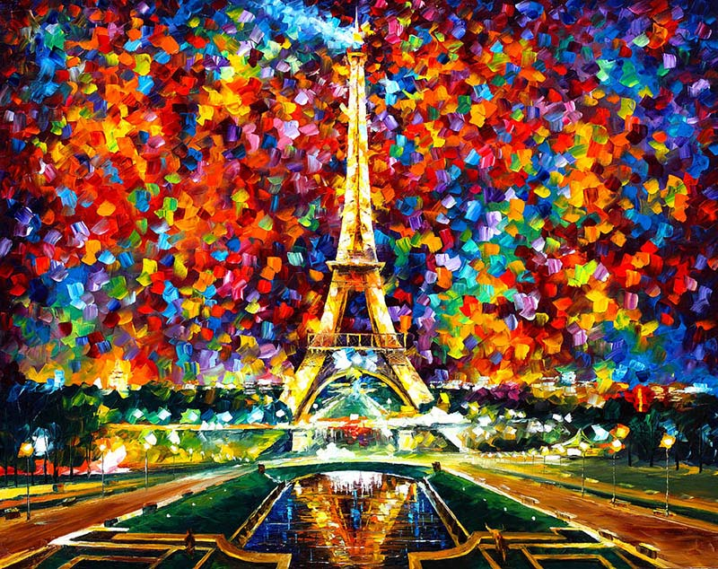 amazing paintings by leonid afremov -  4