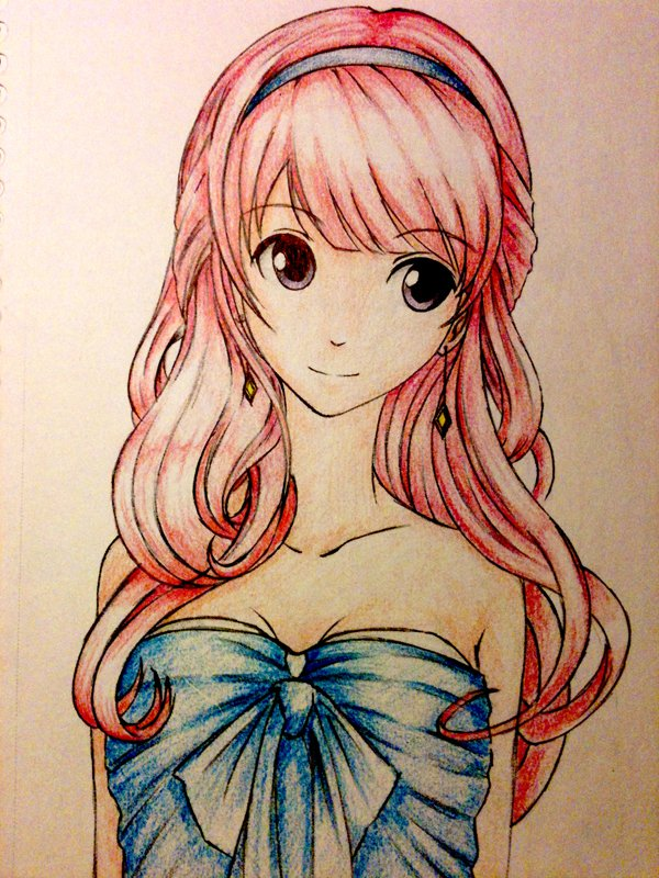 Anime drawings 5