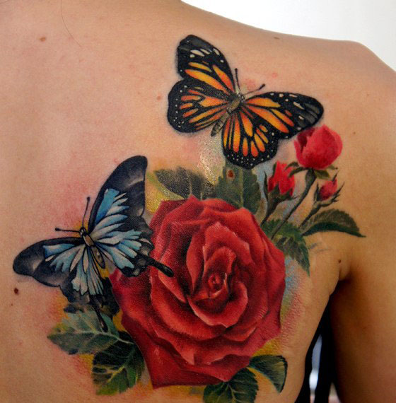 butterfly tattoos women grimmy