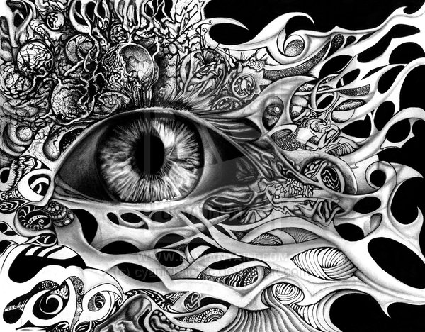 eye amazing drawings