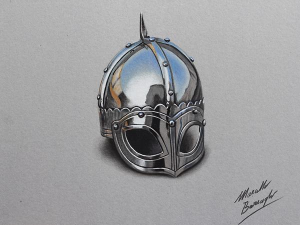 helmet 3d drawings -  5