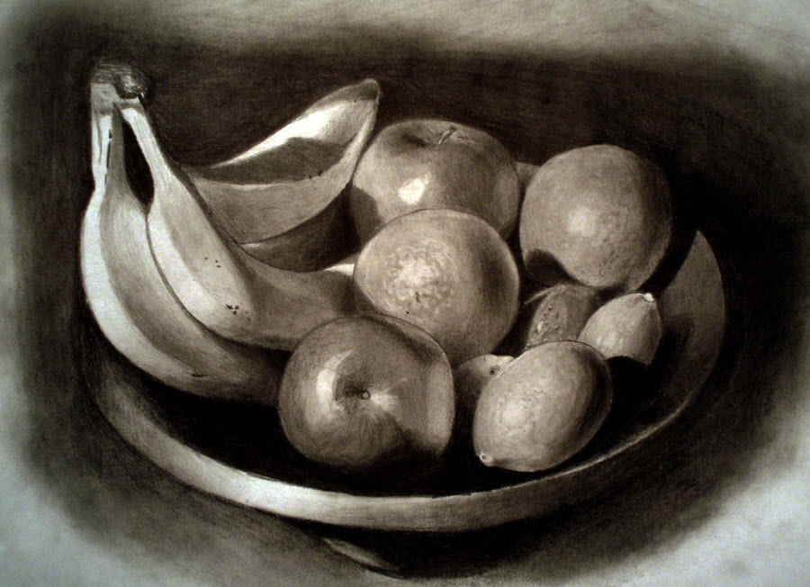 Still life drawings 5