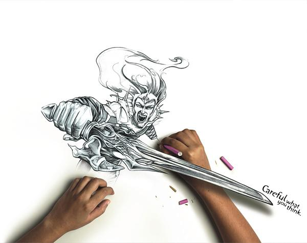 incredible amazing drawings -  6
