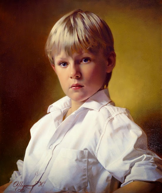 potrait paintings by nikolai shurygin -  6