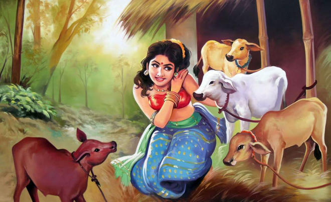 indian painting by renuka narayan -  7