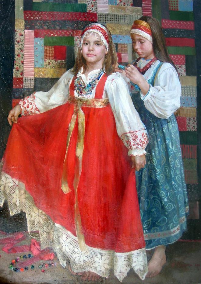 oil painting by natasha milashevich