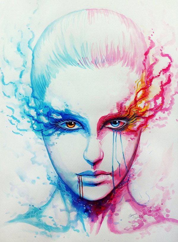 water colour paintings by sanguisgelidus -  7