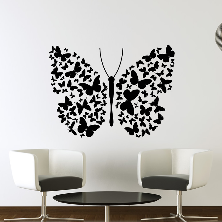 8 butterfly wall art image for Wall art pictures