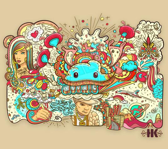 9 doodle art