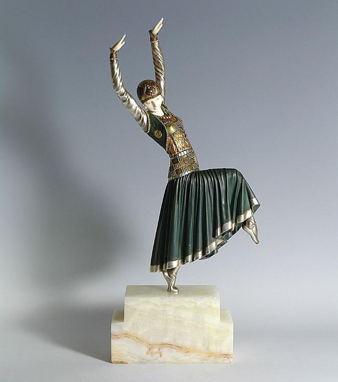 dancer bronze sculptures