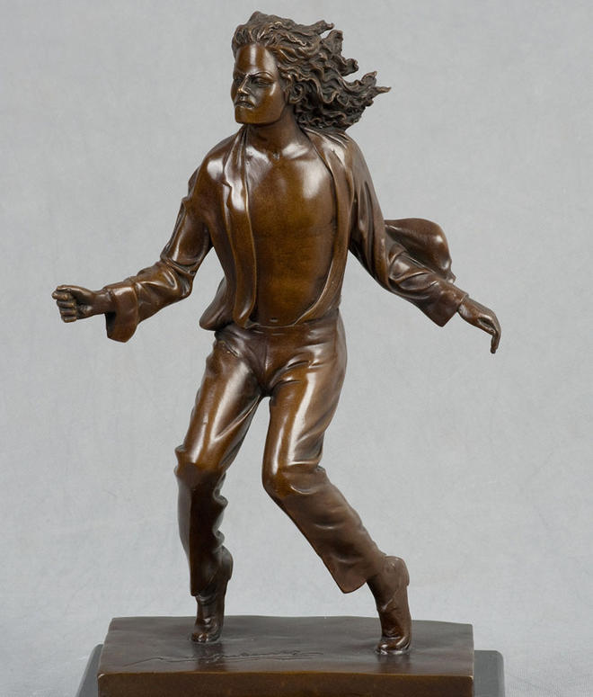 michael jackson bronze sculptures