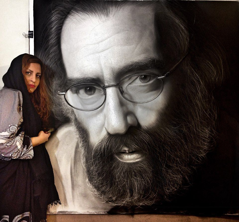 realistic portrait drawing by sahar art