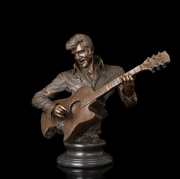 violin bronze sculptures