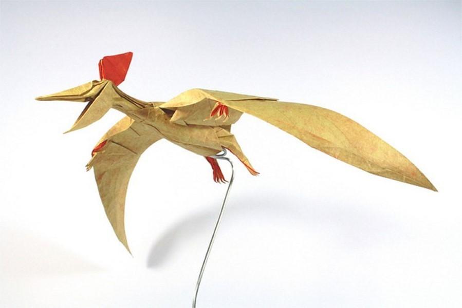 bird paper sculptures art